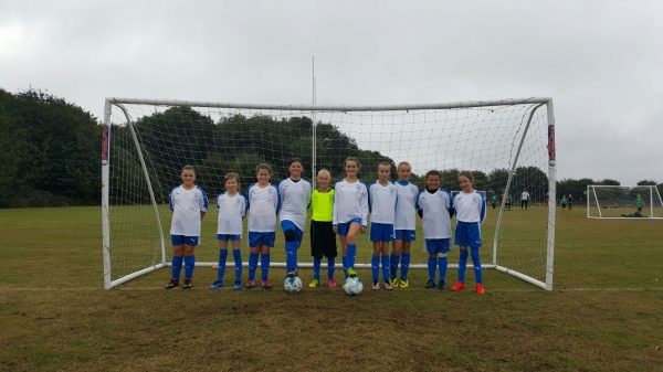Year 5/6 Girls Primary Squad - Thanet District Schools FA Team